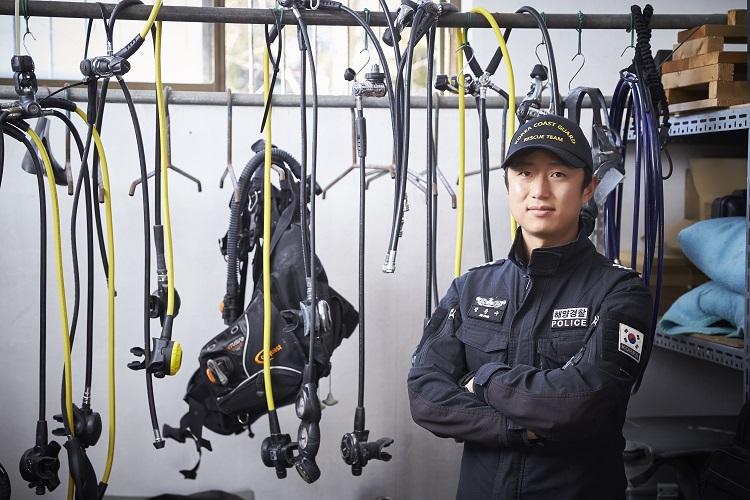 정용수 남해지방해양경찰청 통영해양경찰서 경장