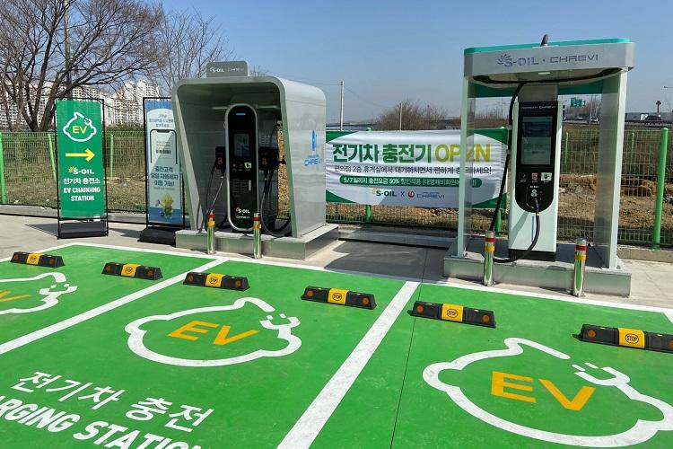 S-OIL, 전기차 충전서비스 개시… 복합 스테이션 확대 나선다