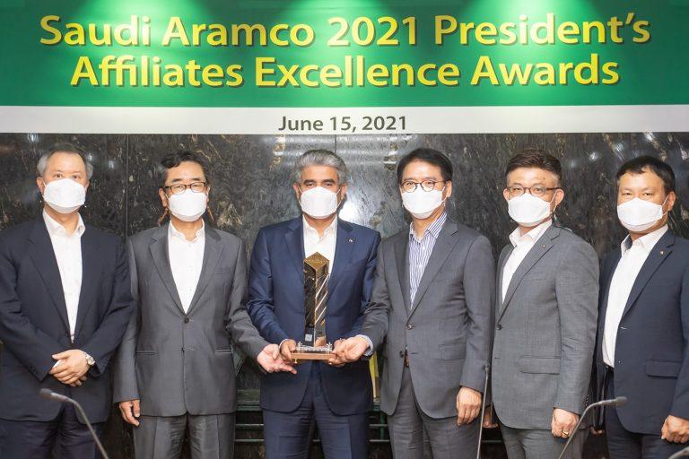 S-OIL, 사우디 아람코 선정 '올해의 최고기업' 수상