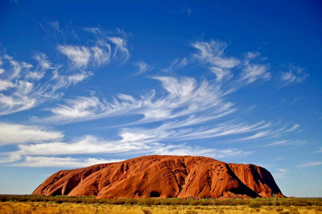 태초의 별, 호주 울룰루 대표 이미지